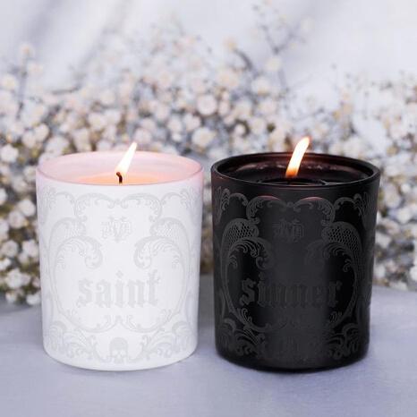 Kat Von D: Saint + Sinner Pre-Drip Candles launched