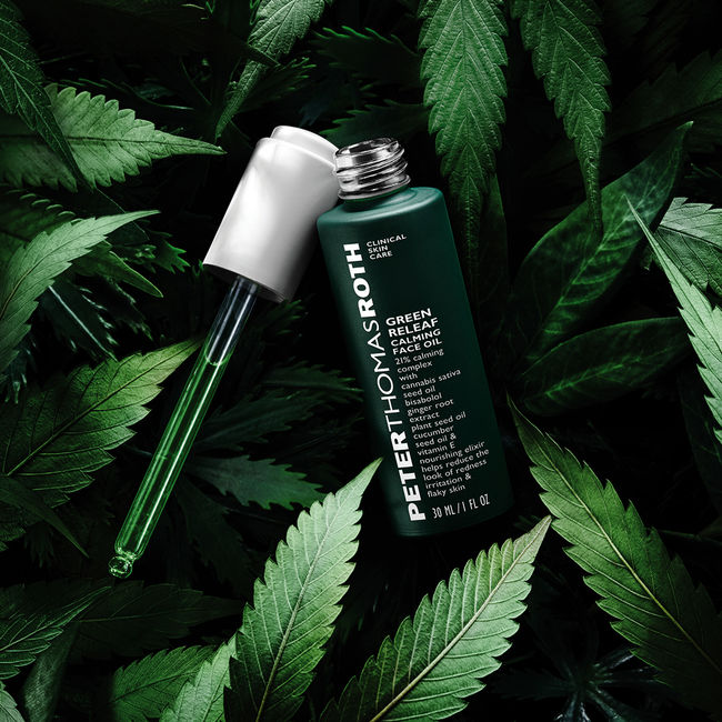 Peter Thomas Roth: New Green Leaf Calming Oil Launched