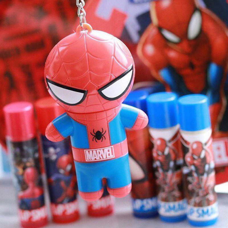 Lip Smacker 82040 Marvel super hero spiderman lip balm, 0.14 Ounce