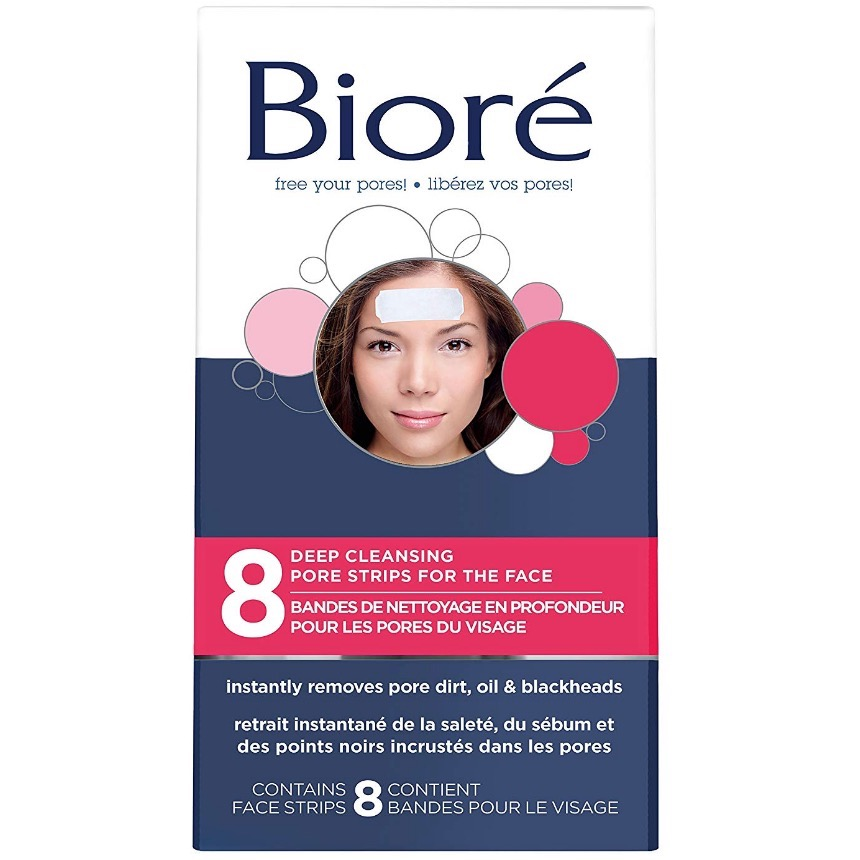 Bioré® Deep Cleansing Pore Strips for the Face 8-Count