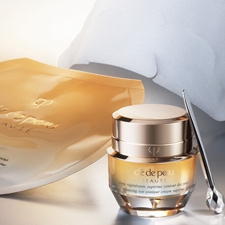 Cle de Peau Beaute: Visibly Recontour Your Eyes with Vitality Enhancing Eye Mask Supreme Today