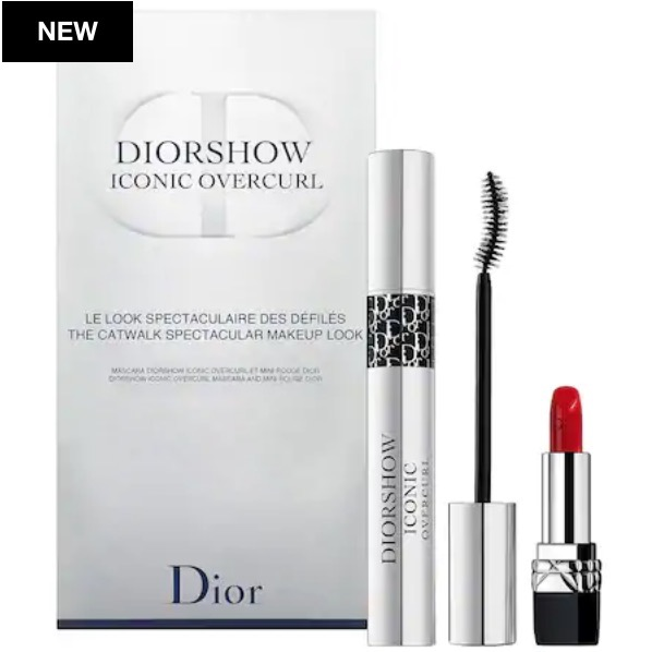 DIOR Diorshow Iconic Overcurl Catwalk Spectacular Makeup Look Set