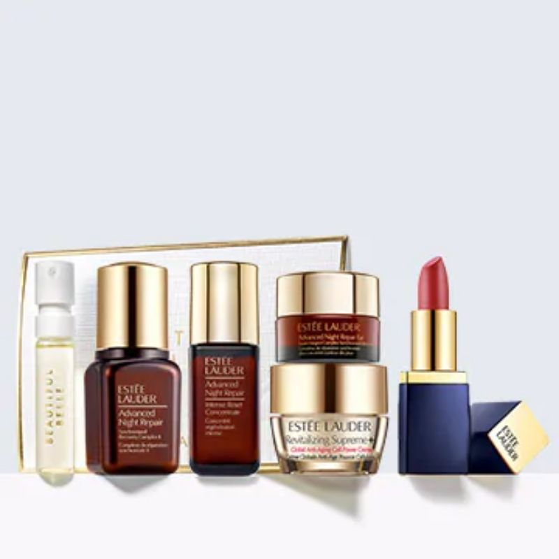 Estee Lauder: Choose two free deluxe samples with every $100 purchase