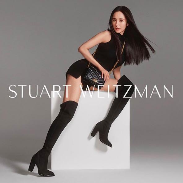 Stuart Weitzman: SW X Yang Mi Collection Has Launched