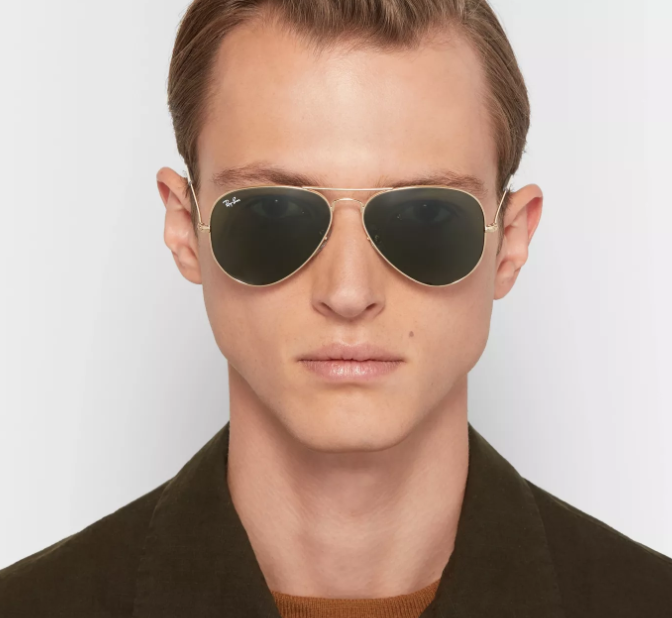 RayBan: Iconic Aviator Collection from $153 with Free Shipping
