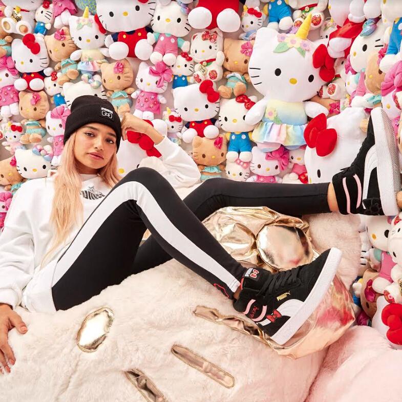Puma US: Hello Kitty X PUMA has Launched