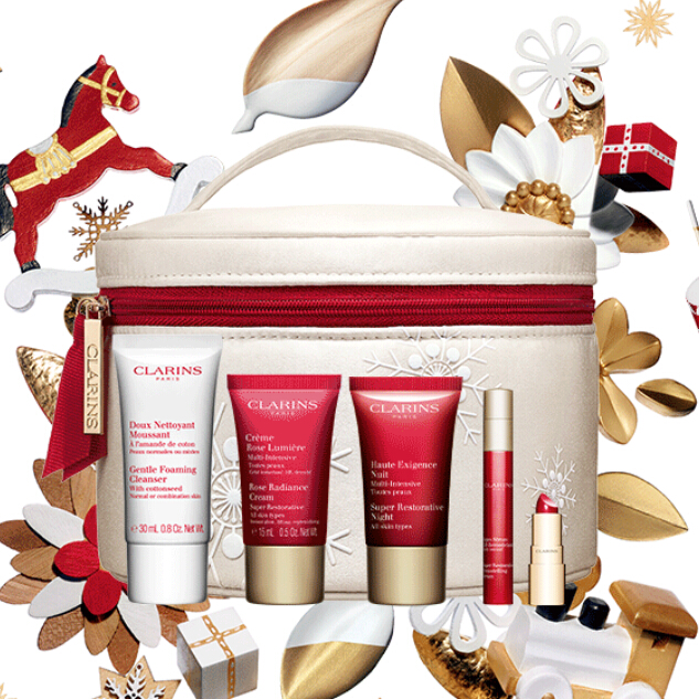 Clarins US: Customize Your 6-pc Set with $100 Purchase