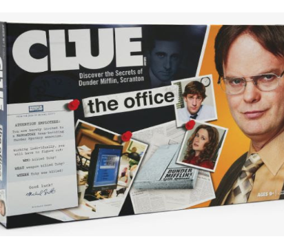 Hot Topic Exclusive: CLUE, THE OFFICE EDITON BOARD GAME
