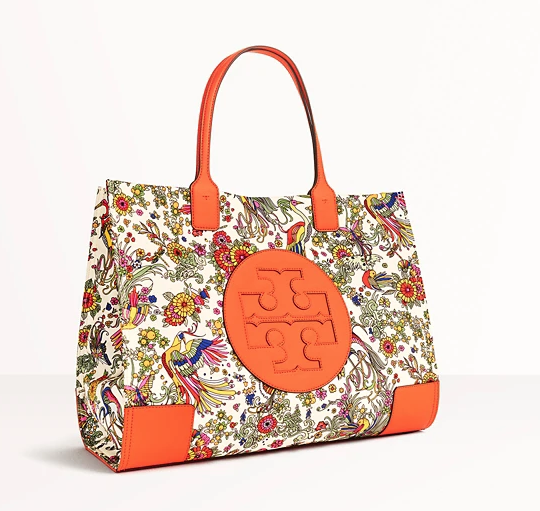 Tory Burch: Online Exclusive! Holiday Edition – Discover the Ella Tote in Our New Print