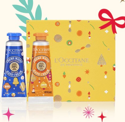 L'Occitane: FREE Hand Cream with ANY Purchase!