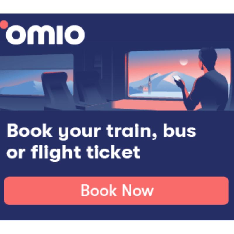 Omio: Book Train, Bus and Flight Tickets! Get the best deals!
