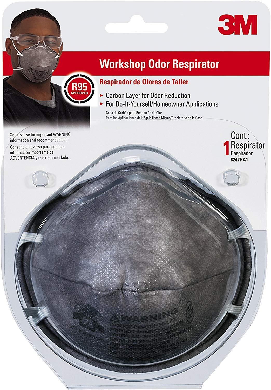 3M Workshop Odor Respirator
