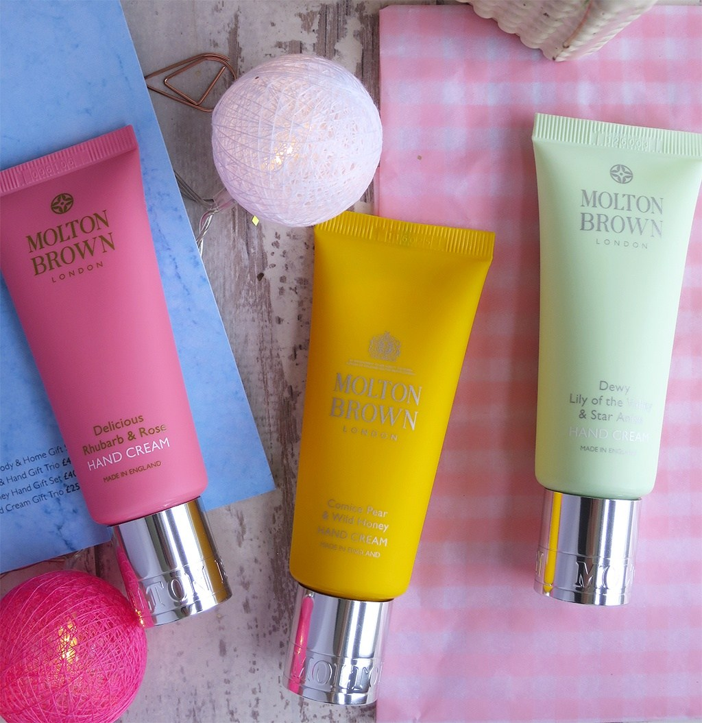 Molton Brown: President's Day Exclusive! FREE 3-piece Hand Cream Set with $130+